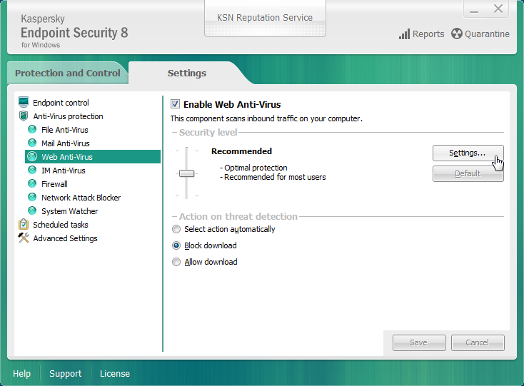 Known Issue with Kaspersky Security Software and SuperWEB2